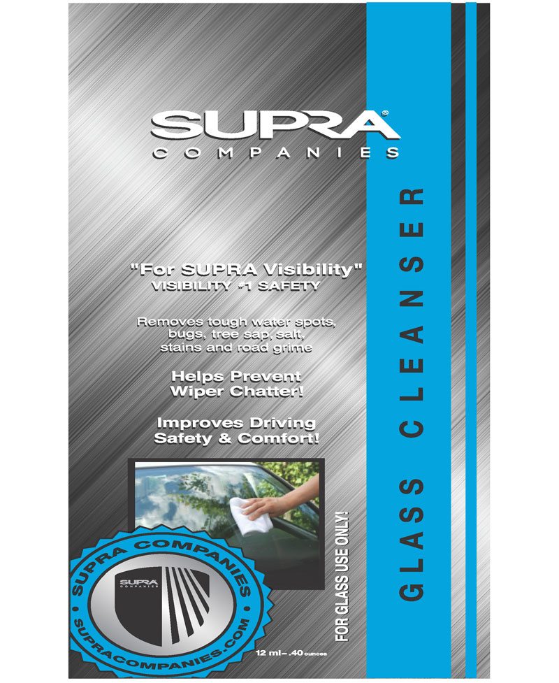 Supra Glass Cleanser™(step 1)